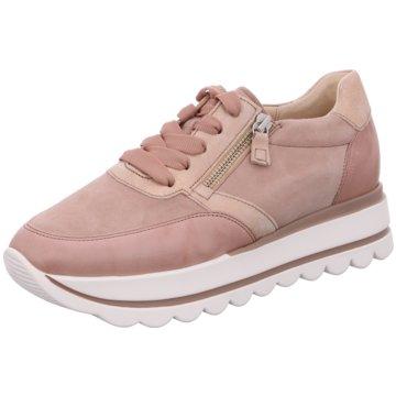 Gabor Sportlicher SchnürschuhSneaker rosa