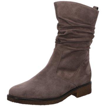 Gabor Klassischer Stiefel beige