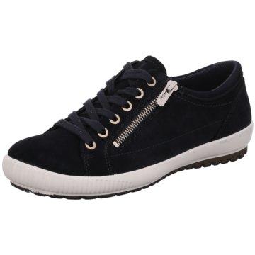 Legero Sportlicher SchnürschuhSneaker blau