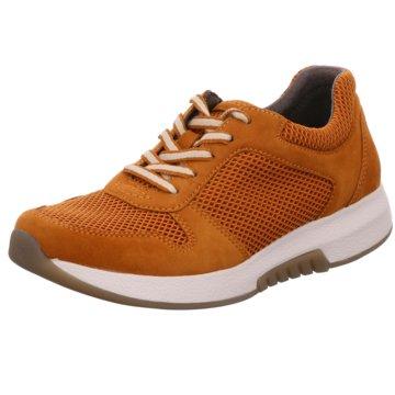 Gabor comfort Sportlicher SchnürschuhSneaker orange