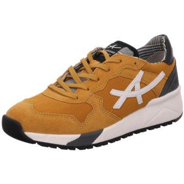 Allrounder Sportlicher SchnürschuhSneaker gelb