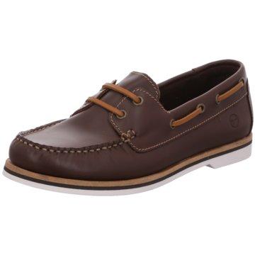 Tamaris BootsschuhSneaker braun