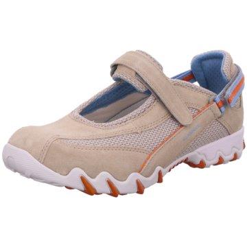 Allrounder Komfort SlipperSneaker braun