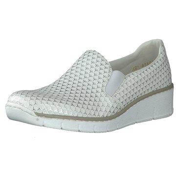 Rieker Komfort Slipper weiß