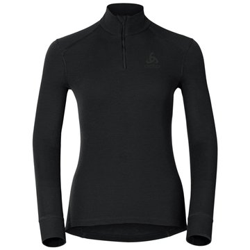 ODLO Shirts & TopsBL TOP TURTLE NECK L/S HALF ZI - 152001 15000 schwarz
