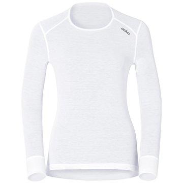 ODLO Shirts & TopsBL TOP CREW NECK L/S ACTIVE WA - 152021 weiß