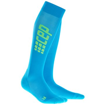 CEP KniestrümpfeProgressive+ Run Ultralight Socks Women blau