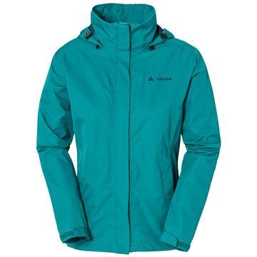 VAUDE ShelljackenEscape Light Jacket Damen Outdoorjacke reef türkis