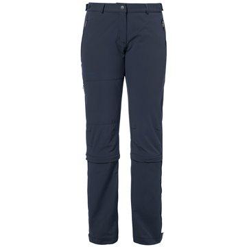VAUDE OutdoorhosenWOMEN'S FARLEY STRETCH CAPRI T-ZIP II - 4577 blau