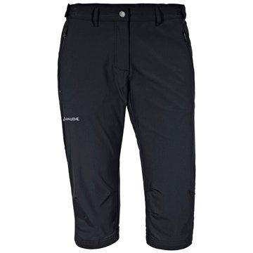 VAUDE 3/4 HosenFarley Stretch Capri II Damen Outdoorhose schwarz schwarz