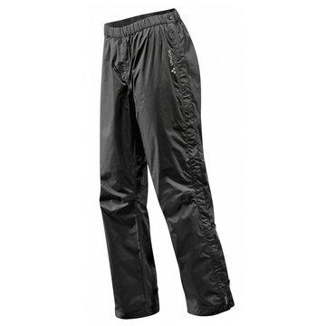 VAUDE RegenhosenWomen's Fluid Full-Zip Pants S/S schwarz