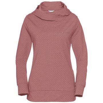 VAUDE HoodiesWomen's Tuenno Pullover rosa