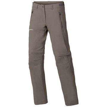 VAUDE OutdoorhosenWomen's Farley Stretch ZO T-Zip Pants braun