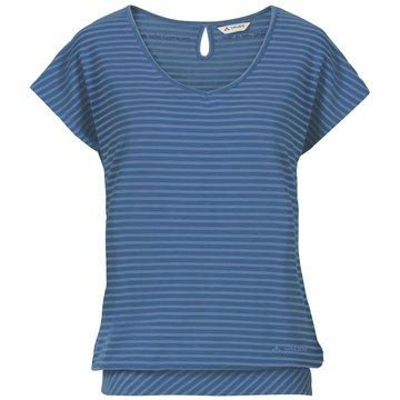 VAUDE Funktionsshirts blau