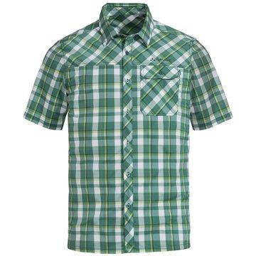 VAUDE KurzarmhemdenMen's Bessat Shirt II grün
