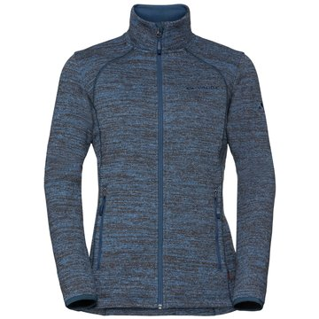 VAUDE Sweatjacken blau