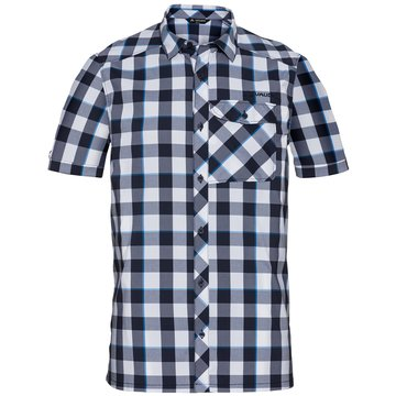 VAUDE KurzarmhemdenMen's Prags Shirt II blau