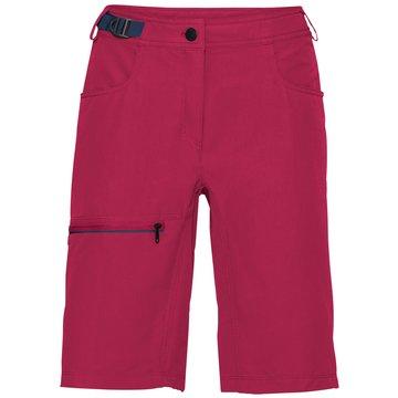 VAUDE Kurze Hosen pink