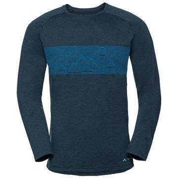 VAUDE Shirts & Tops blau