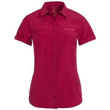 VAUDE KurzarmblusenWomen's Rosemoor Shirt rot