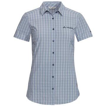 VAUDE KurzarmblusenWomen's Seiland Shirt II blau