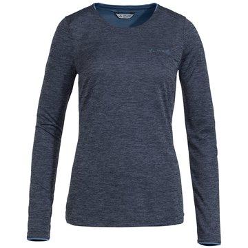 VAUDE LangarmshirtWomen's Essential LS T-Shirt blau