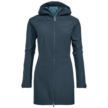 VAUDE WinterjackenWomen's Skomer Softshell Coat blau