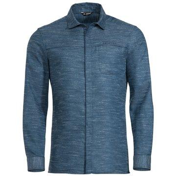 VAUDE LangarmhemdenMen's Mineo LS Shirt blau