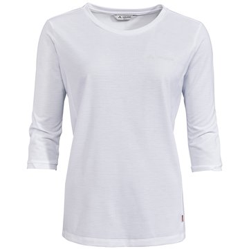 VAUDE LangarmshirtWomen's Skomer 3/4 T-Shirt weiß