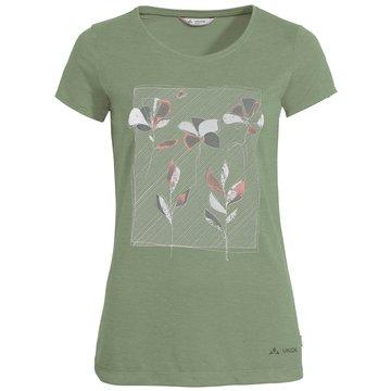VAUDE T-ShirtsWomen's Skomer Print T-Shirt grün