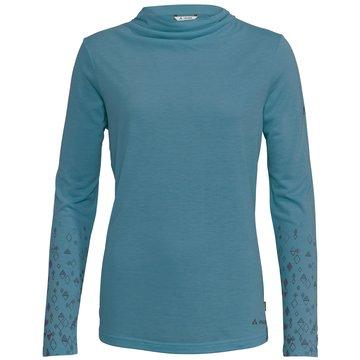 VAUDE LangarmshirtWomen's Skomer LS T-Shirt II grau