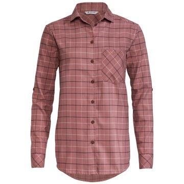 VAUDE LangarmblusenWomen's Farsund LS Shirt II rosa