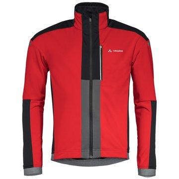 VAUDE FahrradjackenMen's Cereda Softshell Jacket rot