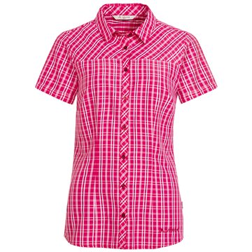 VAUDE KurzarmblusenWomen's Tacun Shirt II rosa