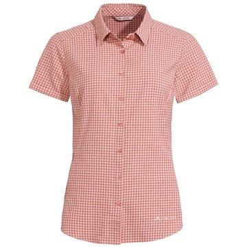 VAUDE KurzarmblusenWomen's Seiland Shirt III rosa