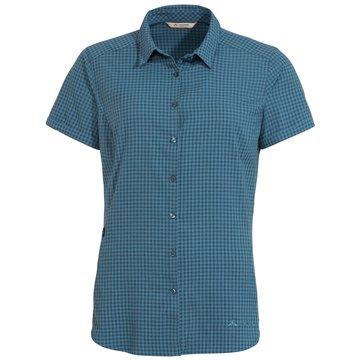 VAUDE KurzarmblusenWomen's Seiland Shirt III blau