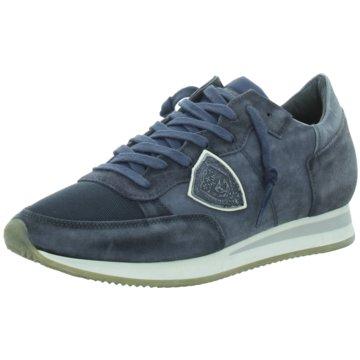 Philippe Model Sneaker blau
