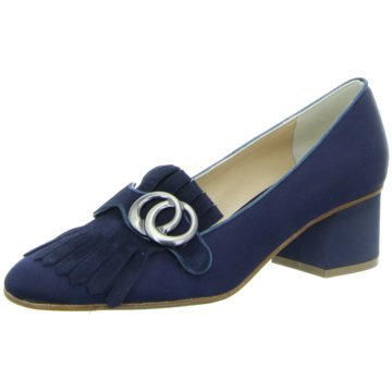 The Seller Pumps blau
