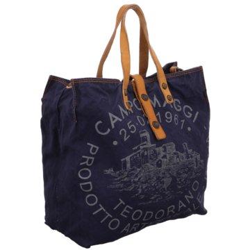 Campomaggi Shopper blau