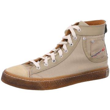 Diesel Sneaker High beige