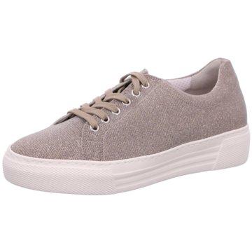 Gabor Plateau Sneaker gold