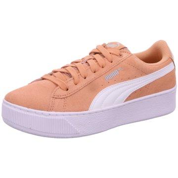Puma Plateau Sneaker orange