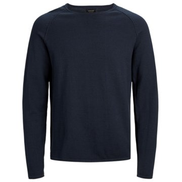 Jack & Jones Strickpullover blau