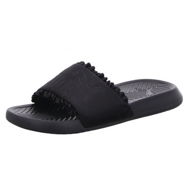 Puma Pool Slides schwarz