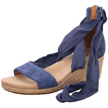 UGG Australia Espadrilles Sandalen blau