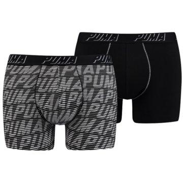 Puma Boxershorts schwarz