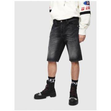 Diesel Jeans Shorts schwarz