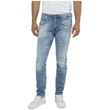 Replay Slim Fit blau