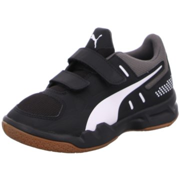 Puma Sneaker LowAuriz V Jr schwarz