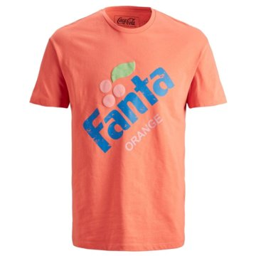 Jack & Jones T-Shirts print orange